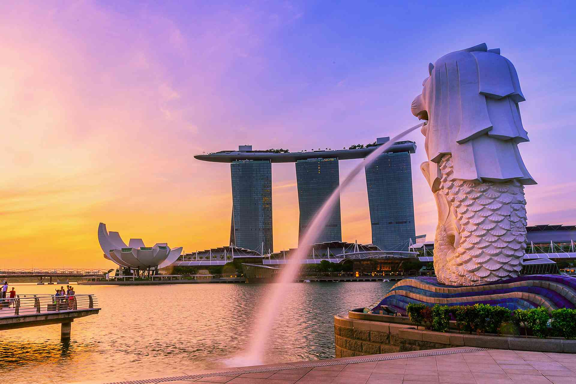 Singapore - Merlion Park