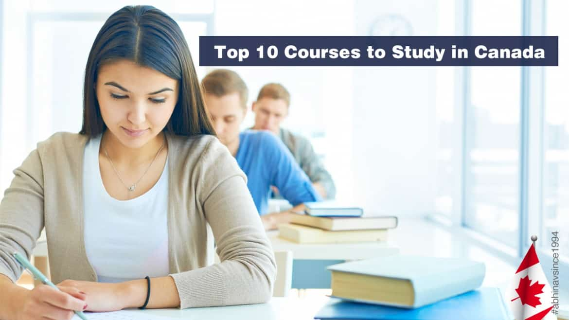 Top 10 courses to study in Canada