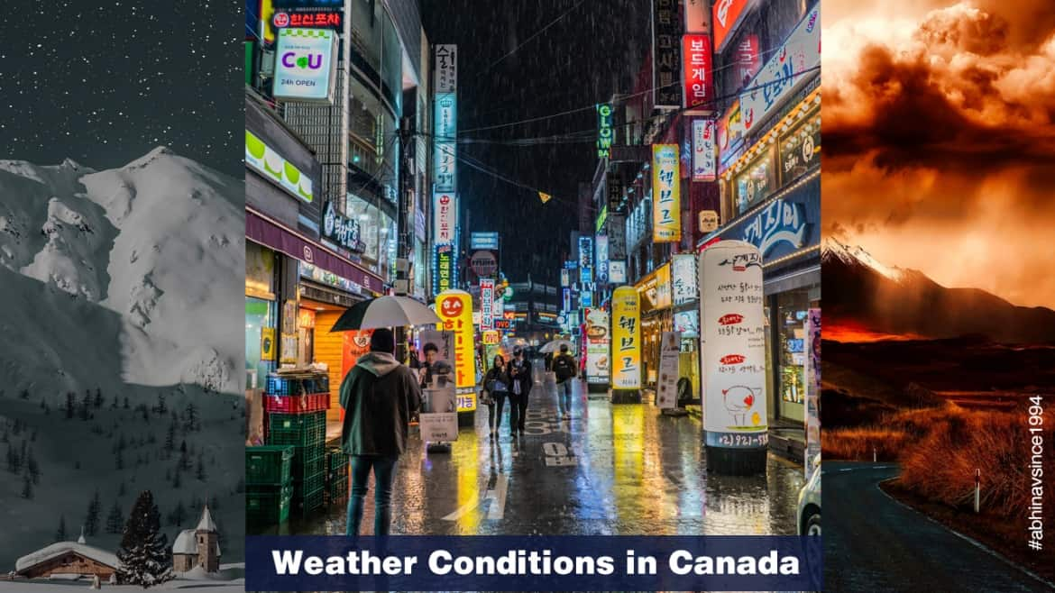 Weather Conditions in Canada