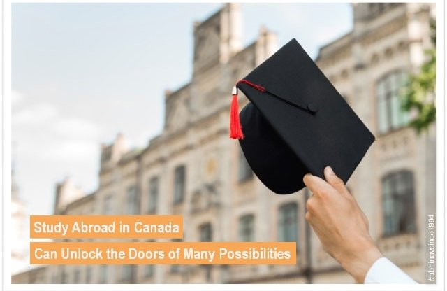 Study Abroad in Canada Can Unlock the Doors of Many Possibilities